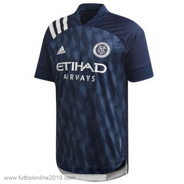 Casacas De Futbol Segunda Camiseta New York City 2020 2021 Azul